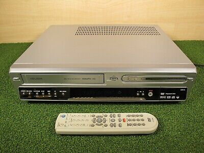 Bush DVRHS02 NICAM Video Cassette VCR Transfer VHS to DVD Recorder Player Combo