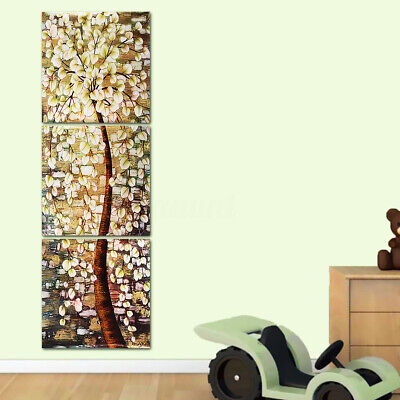 3Pcs Modern Abstract Life Tree Canvas Print Painting Art Picture Home Wall  US