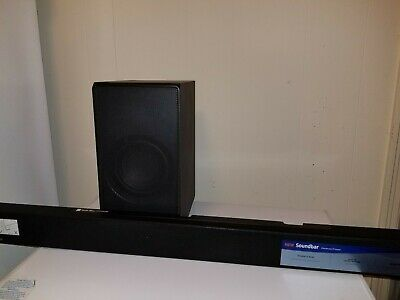 Samsung HW-MM55 3.1-Channel Soundbar with Wireless Subwoofer - With Remote