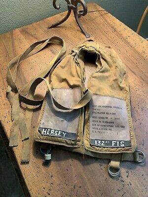 "US Army Air Force AAF WW2 Pilot B-5 ""Mae West"" Life Preserver Vest"