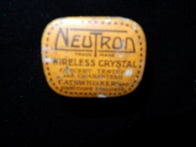 Neutron Wireless Crystal 2 In Tin
