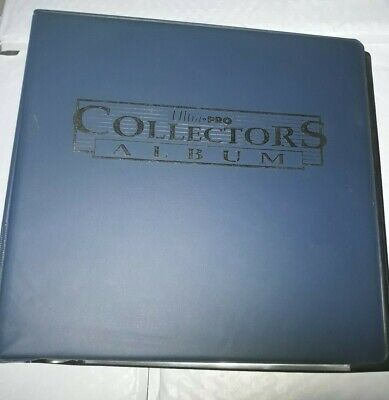 Ultra Pro Collectors Album + 13 empty card pages
