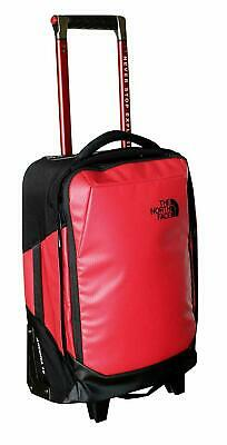 """The North Face Accona (Rolling Thunder) 19"""" Carry On Travel Suitcase TNF Red"""