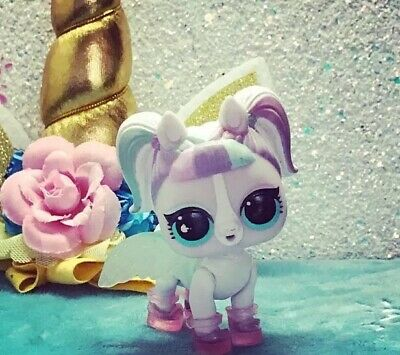 "LOL Surprise Pets Series Eye Spy Unipony ""Unicorn"" NEW ULTRA RARE Color Change!"