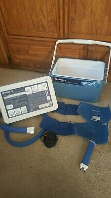 Breg Polar Care Glacier Cold Therapy Knee Wrap & AC Adapter - Free Shipping!