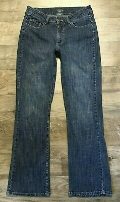 Riders By Lee Womens Jeans Blue Stretch Bootcut Sz 10 M