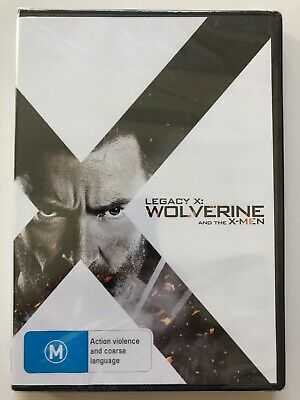 Legacy X: Wolverine and the X-Men - Hugh Jackman (DVD) Region 4- NEW & SEALED