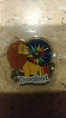 New Disneyland Lion King World Of Color Pin