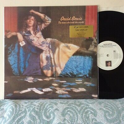 """David Bowie The man who sold the world Simply Vinyl 12"""" LP Vinyl 2001 NM-"""