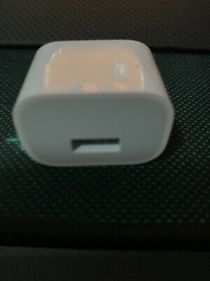 Genuine Apple Wall Charger USB Adapter