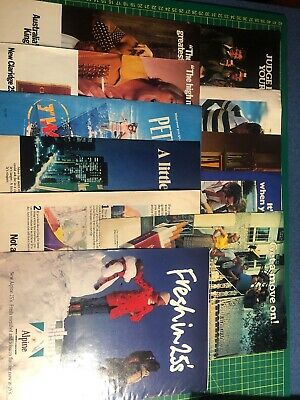 Bulk Lot of 11 Cigarette Tobacco Collectable Vintage Magazine Print Ad