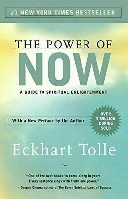 The Power Of Now: A Guide To Spiritual Enlightenment By Eckhart Tolle (Pdf Book)