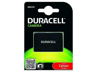 Duracell Drce12 Replacement Camera Battery For Canon Lp-E12 - Free Post