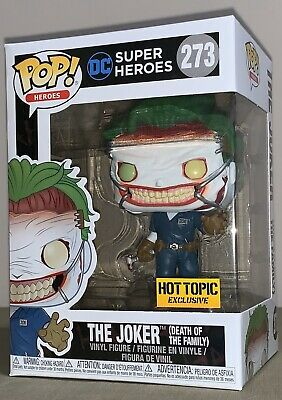 Funko Pop #273- Death of the Family Joker - Batman  Hot Topic EXCLUSIVE !!!