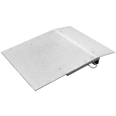 "Aluminum Hand Truck Dock Plate 30 x 36"" Light-weight Loading Dock Board Stable"