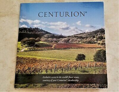 American Express AMEX Centurion Black Card Collectible - WINE at PORTHOS