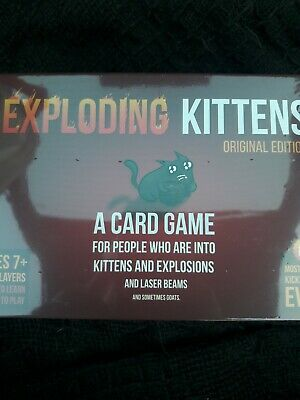 EXPLODING KITTENS Original Edition Card Party Family Game