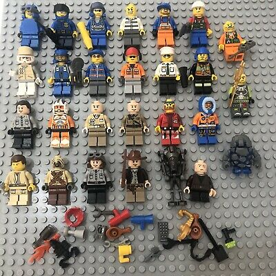 LEGO Random Spares Minifigure Joblot Bundle City Indiana Jones Star Wars Etc