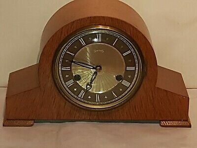 Smiths Mantel Clock - Pinza - With Floating Balance Escapement