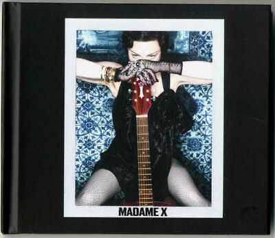 MADONNA - MADAME X Hardcover Deluxe Edition Europe 18 Track Cd album New 2x cds