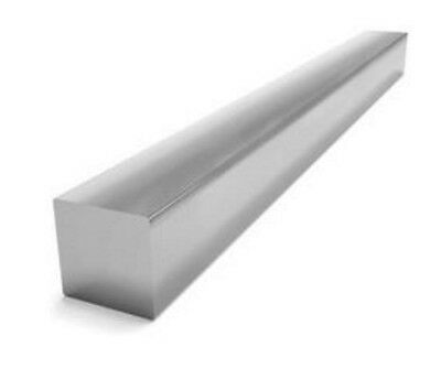 "Square Stock 6061 Aluminum Alloy 1"" x 1"" x 36""  Solid Square  3 ft. Long Bar"