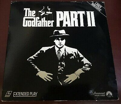The Godfather Part II Laserdisc