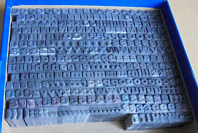 24 Point Univers Ultra Bold Expanded, Letterpress, Adana, Metal Printing Type