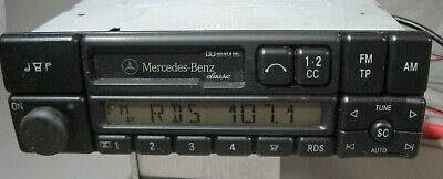 Autoradio Mercedes Benz Classic Becker  +   Codekarte  (602)  BE 1150