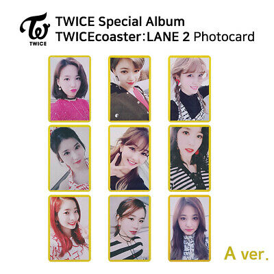 TWICE - Special Album TWICEcoaster : LANE 2 Official Photocard (A Version)