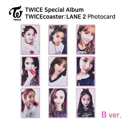 TWICE Special Album TWICEcoaster LANE2 Official Photocard B Version