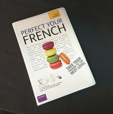 PERFECT YOUR FRENCH WITH TWO AUDIO CDS A TEACH YOURSELF GUIDE By Jean claude VG