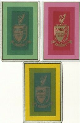 ADS. - Briggs Manufacturing - Detroit - 3 single vintage swap playing cards