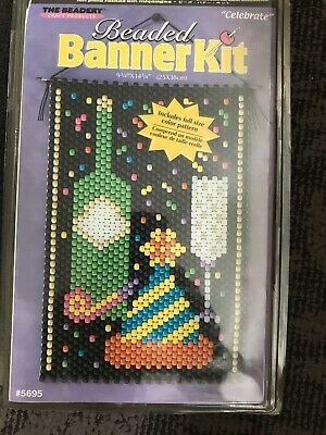 The Beaded Banner Kit-Celebrate Banner Kit #5695.. New