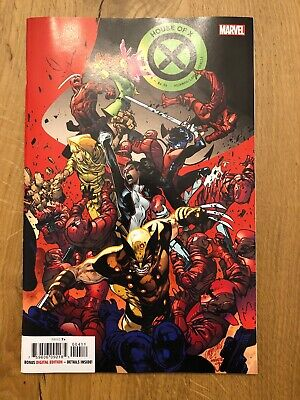House of x 4 Cover A  Marvel Brand New Unread Hickman