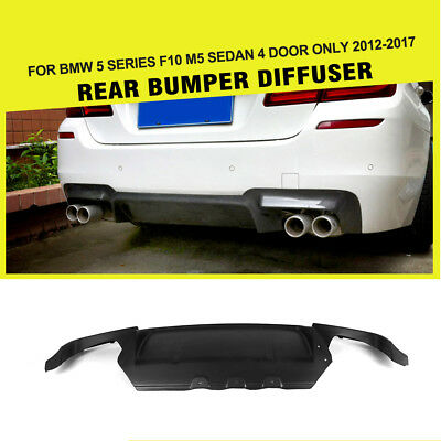 FRP Auto Racing Rear Bumper Diffuser Lower Lip Quad Outlet Fit For Audi S3 13-16