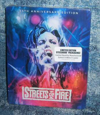 New Diane Lane Streets Of Fire 35Th Anniversary Le Steelbook Blu Ray Movie 1984