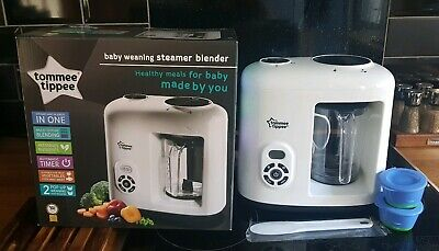 Tommee Tippee Steam Blender Used Once, Electric Food Processor