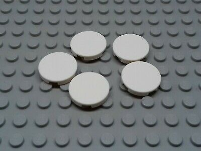 NEW 14769 Lego 2x2 Round Smooth Tile in Light Bluish Grey MEGA pack of 50