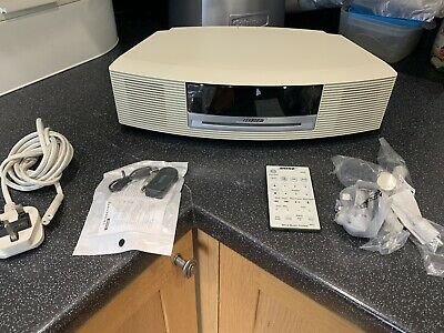 Bose Wave Awrcc6 Cd Radio Alarm Bluetooth Adaptor Supplied Sounds Smashing!!