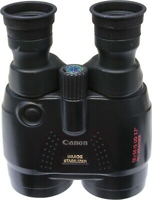 Canon 18x50 IS binoculars and case.