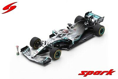 Spark S6071 1/43 2019 Mercedes W10 Lewis Hamilton F1™ Model Chinese GP Model