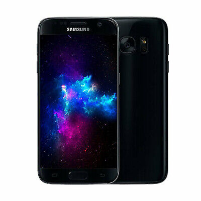 "Samsung Galaxy S7 32GB Android Unlocked Mobile 5.1"" Phone SIM FREE 4G LTE Black"