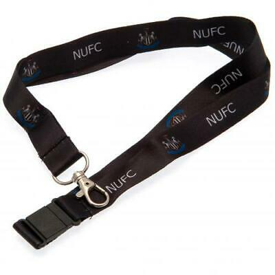 Newcastle United Football Club Nylon Lanyard with Metal Clip Official NUFC Utd
