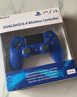 Sony Playstation 4 PS4 Dualshock 4 wireless Remote Controller Wave Blue