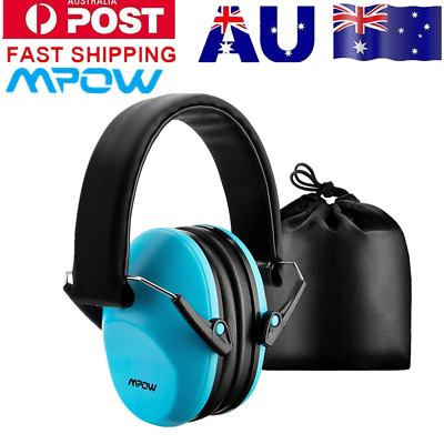 Mpow Noise Canceling Protect Earmuff Folding Safety For Kids Baby Children Blue