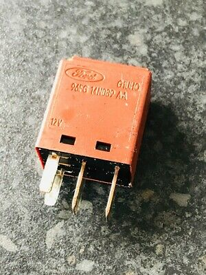 LIGHTING FLASHER UNIT RELAY BROWN 1.4 1.6 1.7 GENUINE FORD PUMA 4-PIN ELECTRIC
