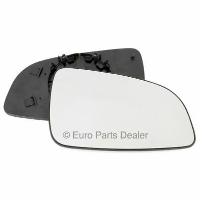 Driver side Clip Convex wing mirror glass for Nissan Juke 14-16
