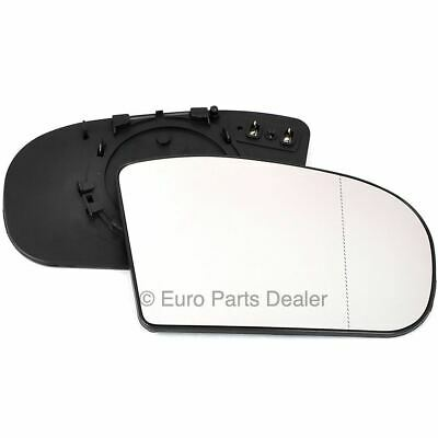 For Mercedes E-Class W210 wing mirror glass 00-02 Right Driver side Spherical