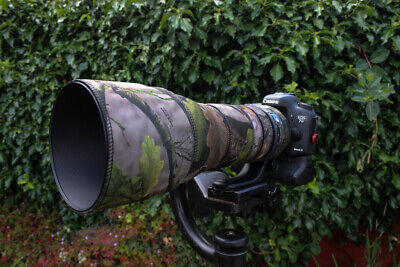 Tamron 150 600mm Di VC G2 Neoprene lens protection camouflage cover Forest Camo