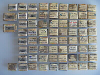 Vintage Reeves Water Colour Paint Cake Block X68 In Original Wrapping.